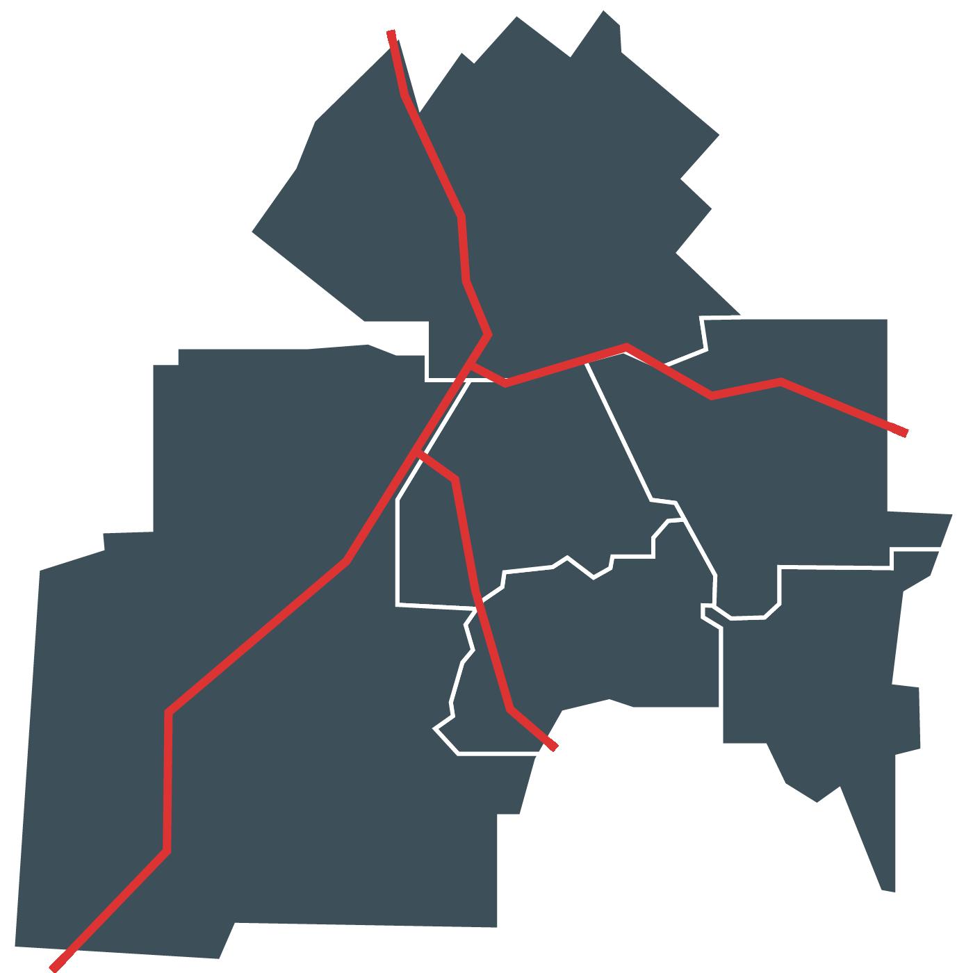 Carte de Sherbrooke